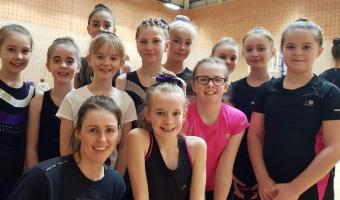 RHYTHMIC BEGINS WITH COMPETITION AND CONDITIONING