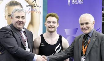 SCOTTISH GYMNASTICS ANNOUNCE FOUR YEAR EXTENSION TO MILANO SPONSORSHIP