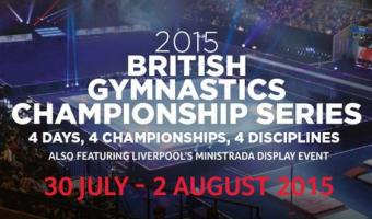 2015 BRITISH CHAMPIONSHIPS SERIES ARRIVES IN LIVERPOOL