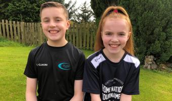 Sibling Success in Leotard Competition