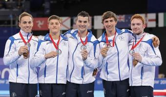 SCOTTISH GYMNASTS MEN WIN HISTORIC COMMONWEALTH TEAM SILVER