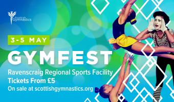 TICKETS ON SALE FOR GYMFEST RAVENSCRAIG