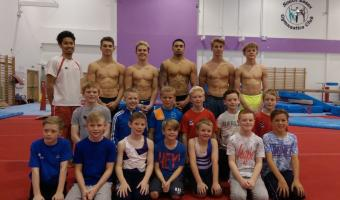 MEN'S ARTISTIC PERFORMANCE PATHWAY PROGRAMME CAMP