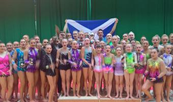 HIGH FIVE FOR ACRO TEAM AT CELTIC CUP