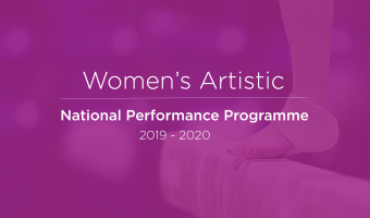 WOMEN'S ARTISTIC SELECTIONS FOR NATIONAL PERFORMANCE PROGRAMME