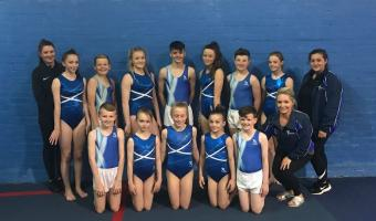 TRAMPOLINE, DMT AND TUMBLING GYMNASTS HEAD TO BIRMINGHAM FOR REGIONAL TEAM FINAL
