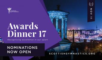 2017 AWARDS - NOMINATIONS NOW OPEN!