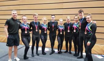 SCOTTISH CLUBS ENJOY SUCCESS AT BRITISH TEAMGYM