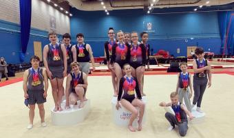 Incredible Medal Success at Disability Artistic British Championships 2021