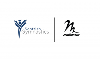 SCOTTISH GYMNASTICS & MILANO END PARTNERSHIP