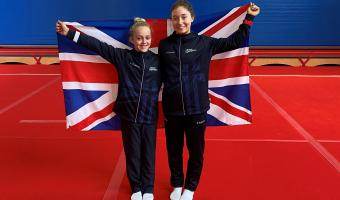 Sophie & Eve Compete at Worlds