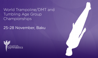 Four Scots Selected for Trampoline, DMT and Tumbling World Age Group Championships