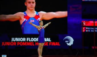 SIXTH IN EUROPE FOR PAVEL IN GLASGOW 2018 FLOOR FINAL