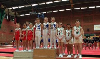 SCOTLAND'S MEN'S ARTISTIC MINORS CLAIM 2015 ARTISTIC CELTIC CUP