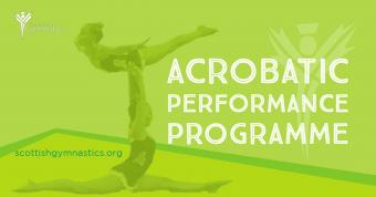 ACRO PERFORMANCE PROGRAMME SELECTION