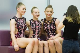 ACRO TRIO SELECTED FOR EUROPEAN CHAMPIONSHIPS