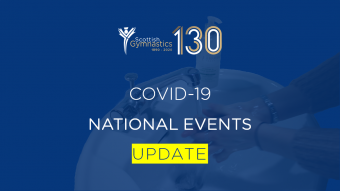 COVID-19: NATIONAL EVENTS UPDATE