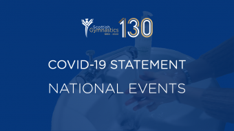 STATEMENT ON COVID-19: NATIONAL EVENTS