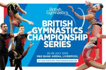 BRITISH GYMNASTICS CHAMPIONSHIP SERIES