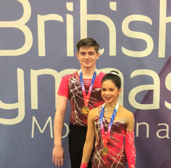 TWO SCOTTISH PARTNERSHIPS CROWNED BRITISH NDP & IDP ACROBATIC CHAMPIONS