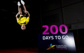 YOUNG PEOPLE COUNTDOWN TO GLASGOW 2018