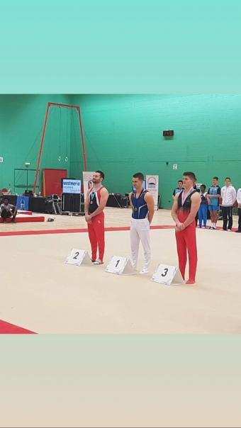 MEN'S ARTISTIC GYMNASTS EARN MEDALS IN LONDON