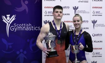 BAINES & KENNEDY CROWNED 2019 ARTISTIC CHAMPIONS