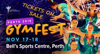 GRAB YOUR TICKETS FOR GYMFEST PERTH