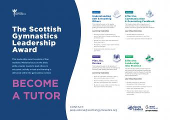 HELP TRAIN YOUNG PEOPLE FOR NEW LEADERSHIP AWARD