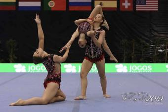 ACROBAY TRIO REPRESENT GREAT BRITIAN AT FIRST SENIOR WORLD CUP