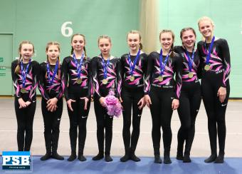 First-time Fyrish Fly High at Scottish National TeamGym Championships