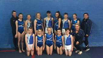 OVER 40 MEDALS WON AT TRAMPOLINE & TUMBLE NDP FINALS