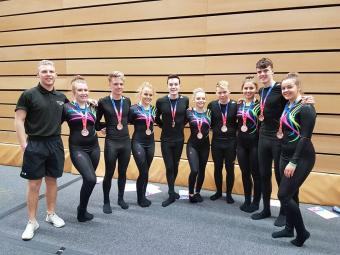 SCOTTISH CLUBS ENJOY SUCCESS AT BRITISH TEAMGYM