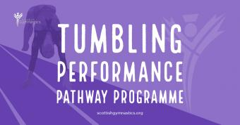 GYMNASTS SELECTED FOR FIRST TUMBLE PERFORMANCE PROGRAMME