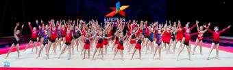 GYMNASTS PERFORM ON EUROPEAN STAGE